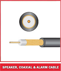 Speaker, Coaxial & Alarm Cable