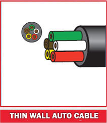 Thin Wall Auto Cable